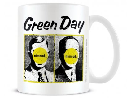 HRNEK KERAMICKÝ|GREEN DAY  315 ml|NIMROD|BÍLÝ