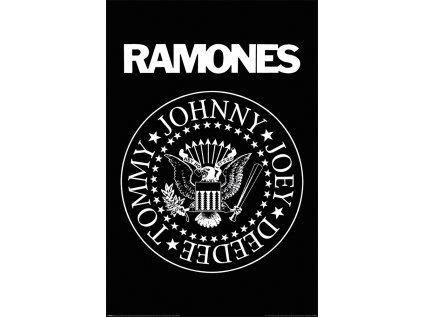 PLAKÁT 61 x 91,5 cm|RAMONES  LOGO