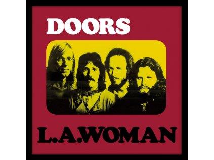 PLAKÁT V RÁMU 31,5 x 31,5 cm  THE DOORS|LA WOMAN
