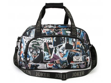 TAŠKA SPORTOVNÍ|DC COMICS  THE JOKER COMICS|45 x 30 x 22 cm