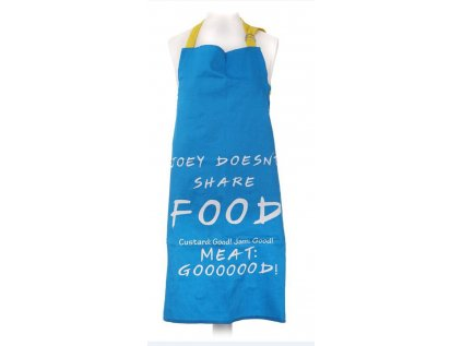 KUCHYŇSKÁ ZÁSTĚRA FRIENDS  JOEY DOESN'T SHARE FOOD 77 x 51 cm