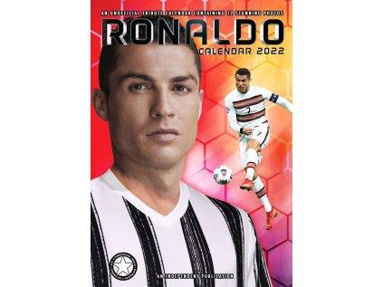 KALENDÁŘ 2022|FOTBAL  CRISTIANO RONALDO (29,7 x 42 cm) A3