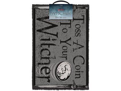 ROHOŽKA|THE WITCHER  TOSS A COIN|60 x 40 cm