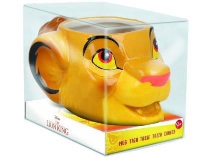 HRNEK KERAMICKÝ 3D|THE LION KING  415 ml|SIMBA
