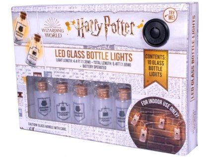 SVĚTÝLKA K ZAVĚŠENÍ 3D HARRY POTTER  POTION GLASS BOTTLE 10 ks