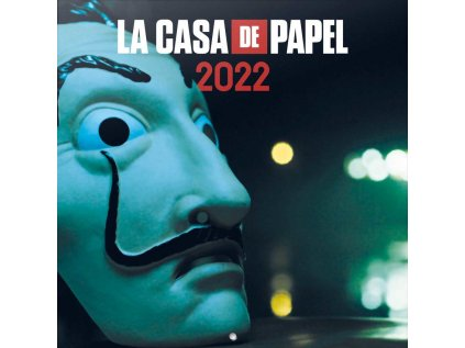 KALENDÁŘ 2022 FILM  LA CASA DE PAPEL (30 x 30 60 cm) SQ
