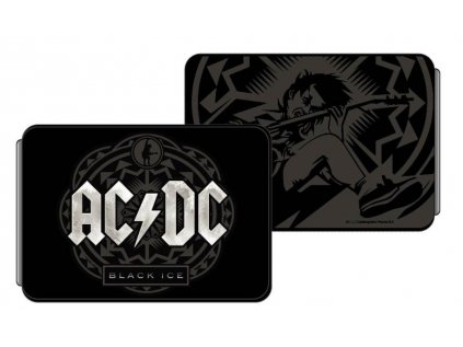 PENĚŽENKA NA KARTY|AC/DC  BLACK ICE|12 x 8 x 1 cm