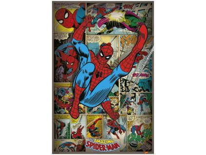 PLAKÁT 61 x 91,5 cm|MARVEL  SPIDERMAN|RETRO