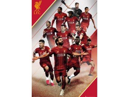 PLAKÁT 61 x 91,5 cm  LIVERPOOL FC PLAYERS 18