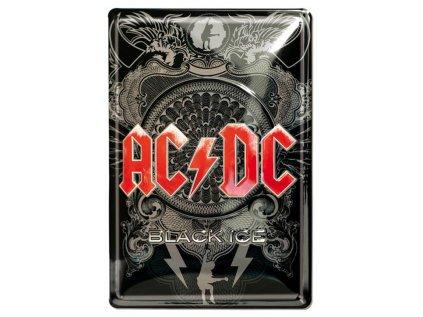 CEDULE NA ZEĎ|AC/DC  A5|20 x 30 cm|BLACK ICE