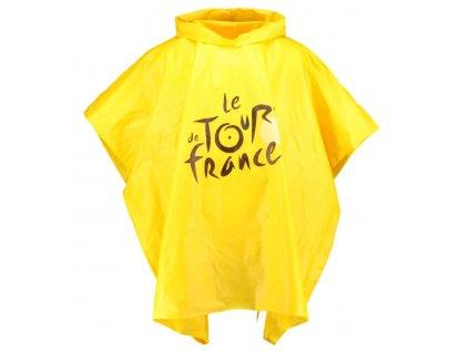 PLÁŠTĚNKA|TOUR DE FRANCE  PONCHO|ŽLUTÁ|UNIVERSÁLNÍ