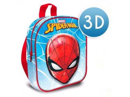 BATOH DĚTSKÝ 3D|MARVEL|SPIDERMAN  VÝŠKA 30 cm|SPIDERMAN