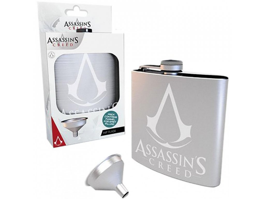 PLASKAČKA|ASSASSIN'S CREED  200 ml|LOGO