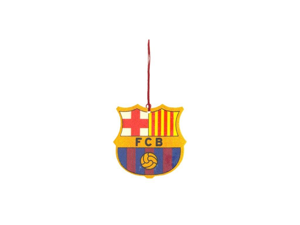 OSVĚŽOVAČ VZDUCHU|BARCELONA FC  VŮNĚ DO AUTA|ZNAK|6,5 x 6,5 cm