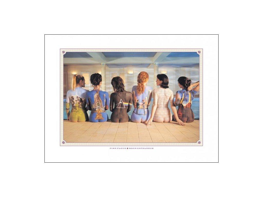 PLAKÁT 60 x 80 cm|PINK FLOYD  BACK CATALOGUE|ART PRINT