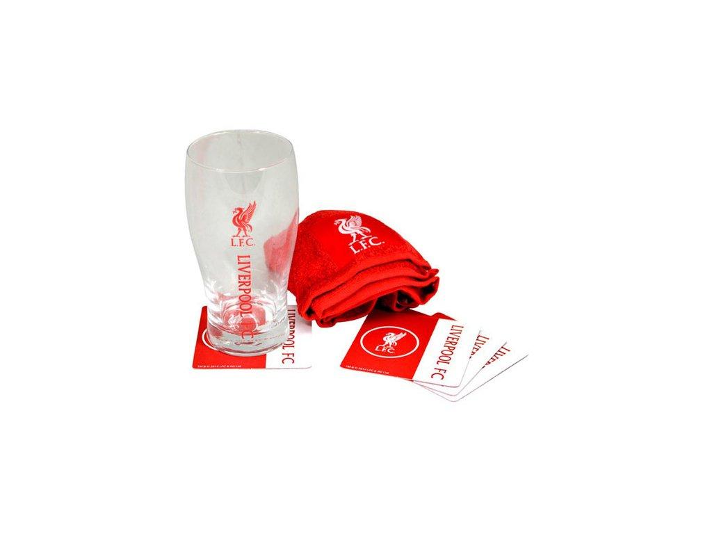 SKLENICE BAR SET|LIVERPOOL FC  470 ml SKLENICE|MINI SET|WORDMARK
