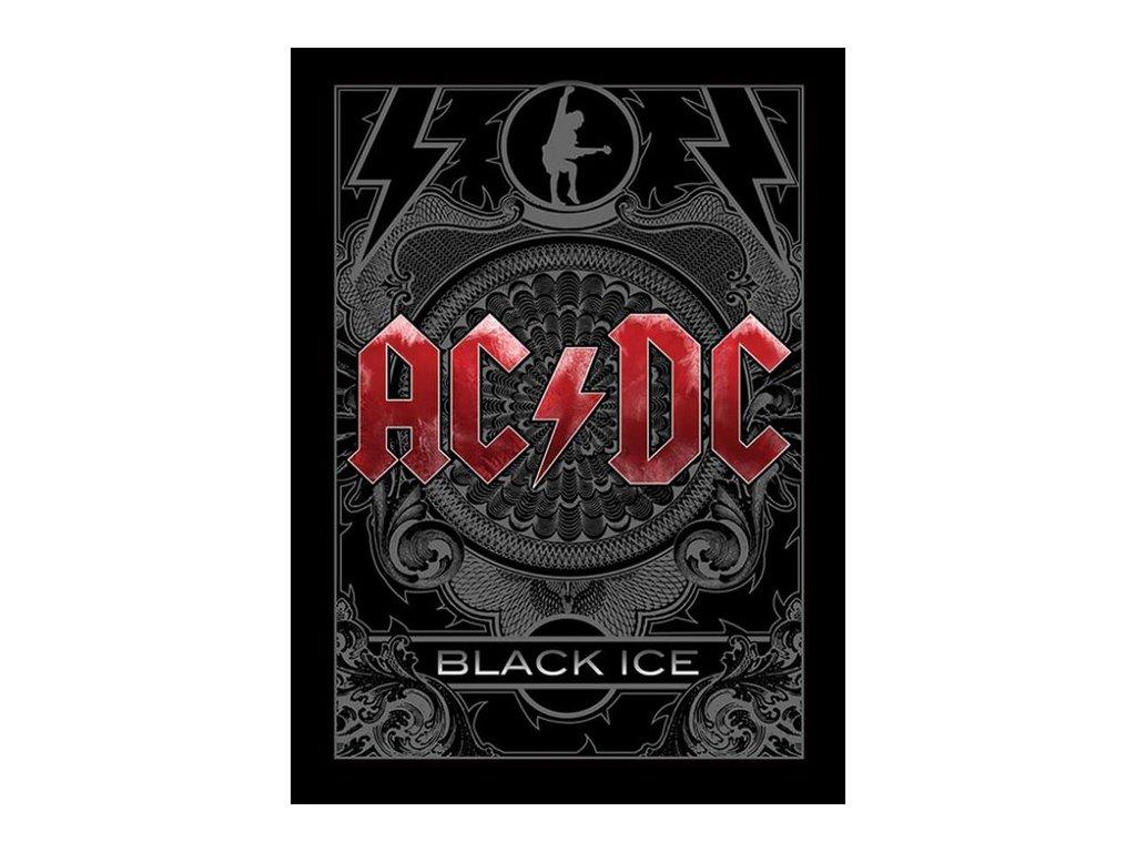 PLAKÁT V RÁMU 30 x 40 cm  AC/DC|BLACK ICE