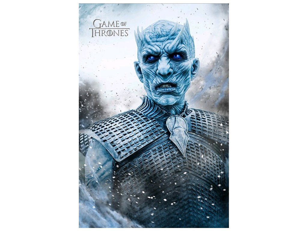 PLAKÁT 61 x 91,5 cm|GAME OF THRONES  NIGHT KING