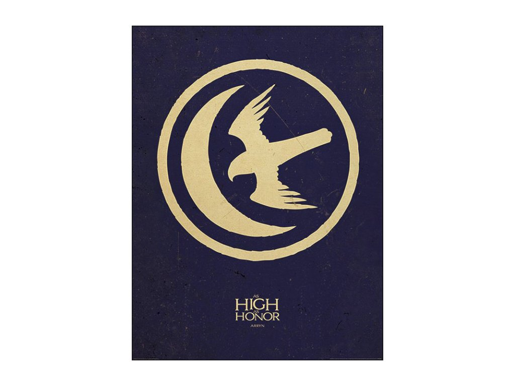 PLAKÁT 60 x 80 cm  GAME OF THRONES|ARRYN|ART PRINT