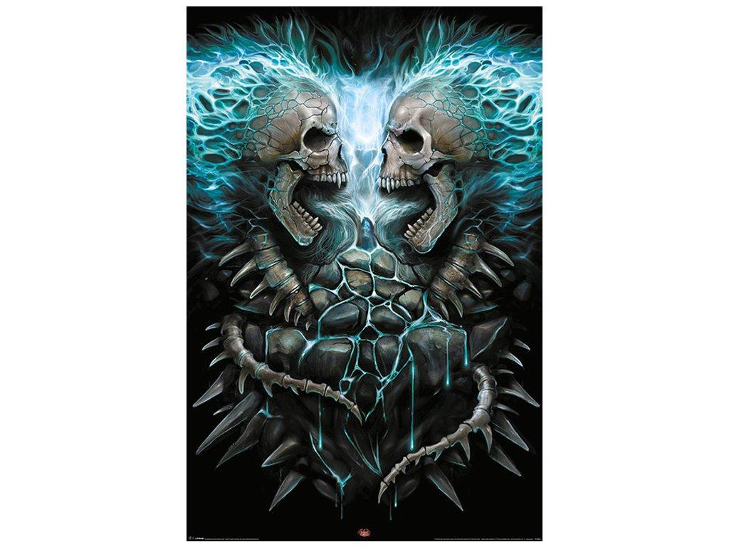 PLAKÁT 61 x 91,5 cm|SPIRAL  FLAMING SPINE