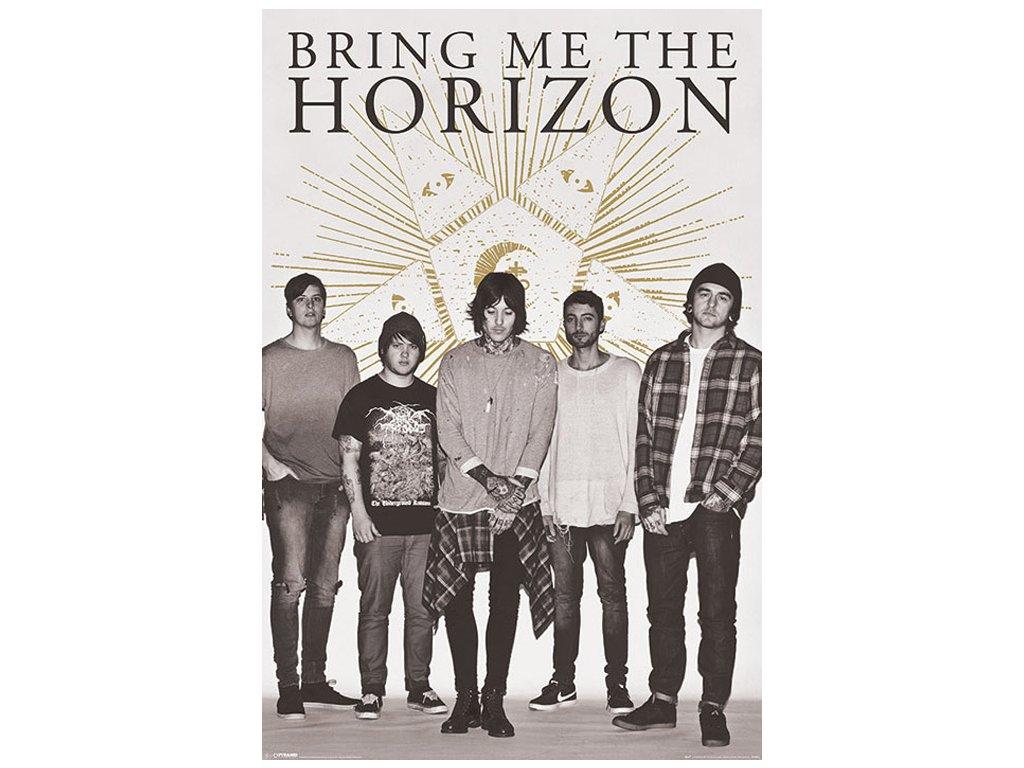 PLAKÁT 61 x 91,5 cm  BRING ME THE HORIZON|STAR