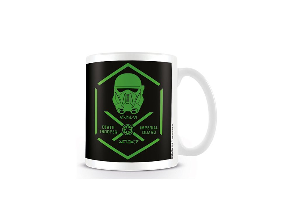 HRNEK KERAMICKÝ|STAR WARS ROGUE ONE  11 oz|315 ml|DEATH TROOPER|BÍLÝ