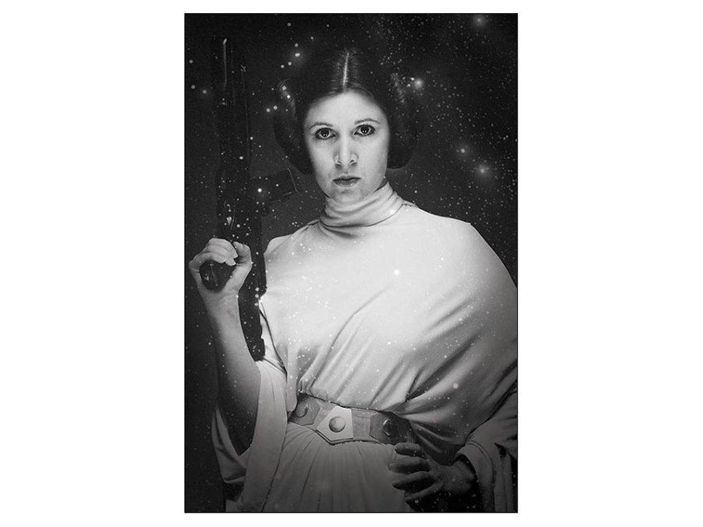 PLAKÁT 61 x 91,5 cm  STAR WARS|PRINCESS LEIA