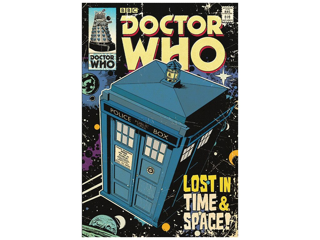 PLAKÁT 61 x 91,5 cm|DOCTOR WHO  LOST IN TIME