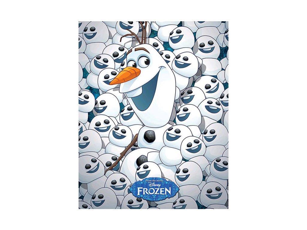PLAKÁT 40 x 50 cm|DISNEY|FROZEN  FROZEN|FEVER|OLAF & BABY OLAFS
