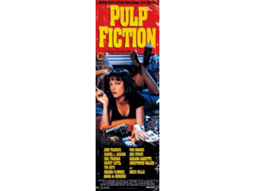 PLAKÁT 53 x 158 cm|PULP FICTION  COVER