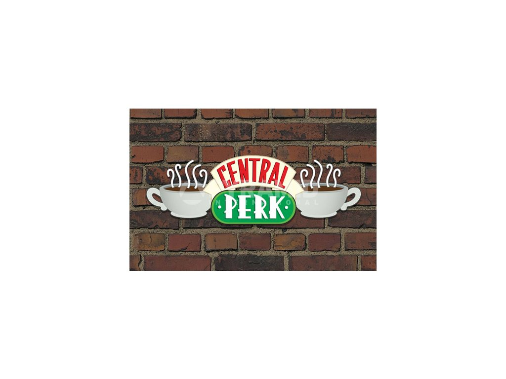 PLAKÁT 61 x 91,5 cm|FRIENDS  CENTRAL PERK BRICK