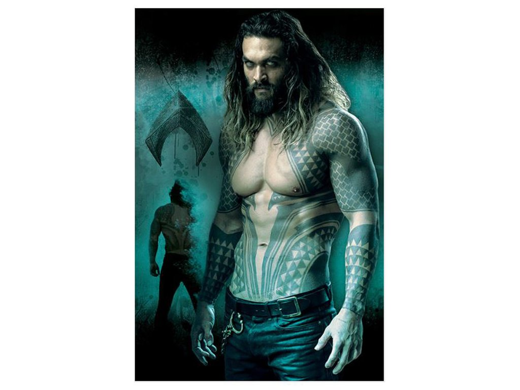 PLAKÁT 61 x 91,5 cm|DC COMICS  JUSTICE LEAGUE|AQUAMAN