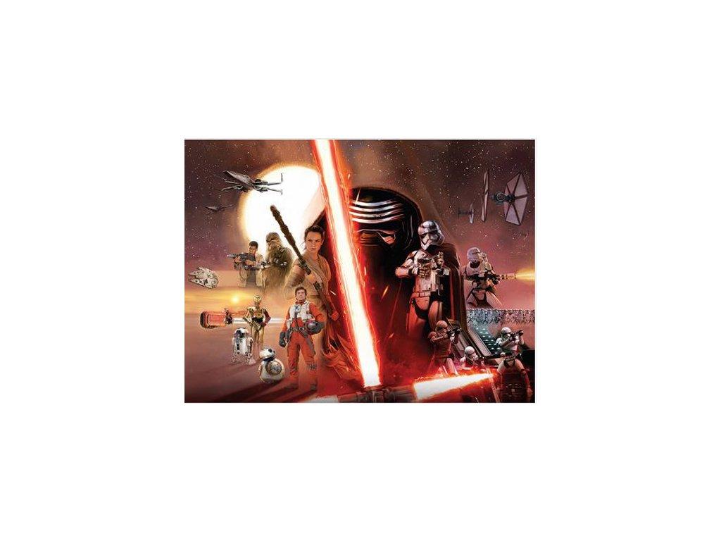 OBRAZ NA PLÁTNĚ CANVAS|30 x 40 cm  STAR WARS VII|GALAXY