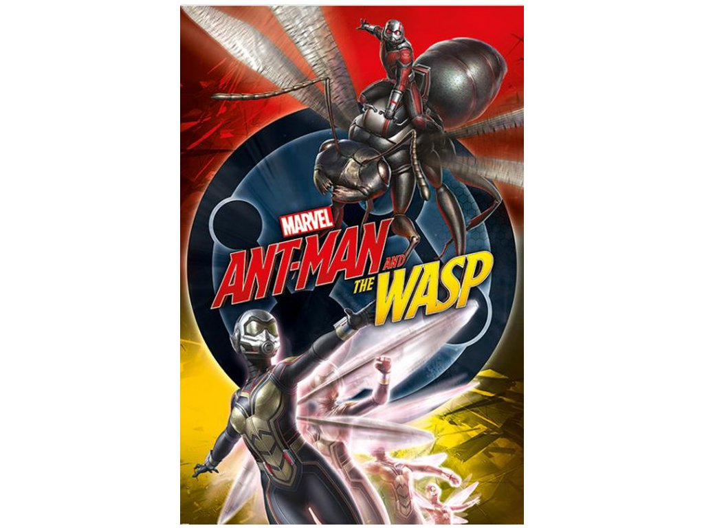 PLAKÁT 61 x 91,5 cm|MARVEL  ANT-MAN AND THE WASP Cr