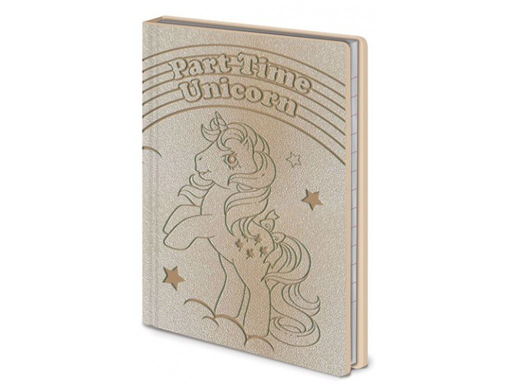 BLOK|ZÁPISNÍK A6|PREMIUM  MY LITTLE PONY|UNICORN|10,5 x 14,8