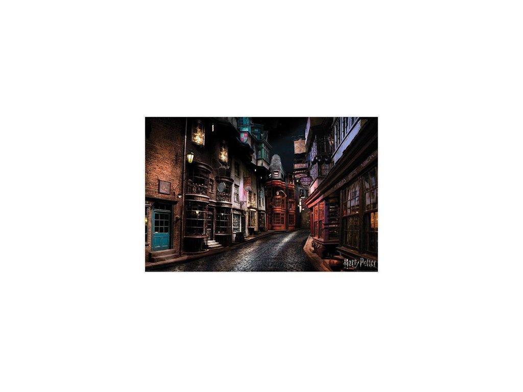 PLAKÁT 61 x 91,5 cm|HARRY POTTER  DIAGON ALLEY