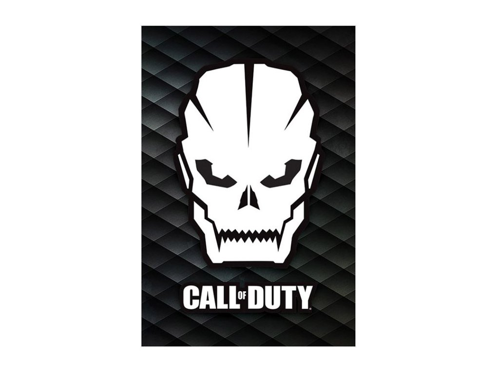 PLAKÁT 61 x 91,5 cm|CALL OF DUTY  SKULL