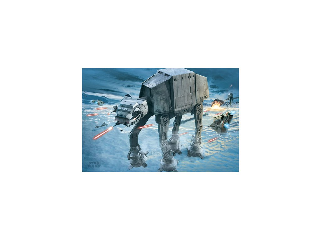 PLAKÁT 61 x 91,5 cm|STAR WARS  AT-AT ATTACK