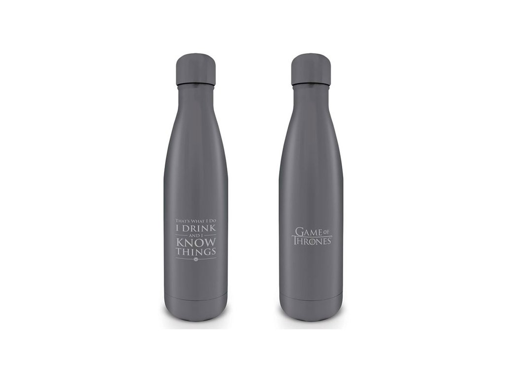 LÁHEV NA PITÍ|GAME OF THRONES  550 ml|I DRINK AND I KNOW THINGS