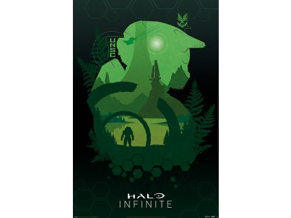 PLAKÁT 61 x 91,5 cm|HALO INFINITE  LAKESIDE