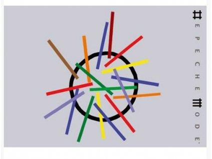 POHLEDNICE A6|DEPECHE MODE  LOGO|15 x 10,5 cm
