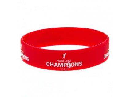 NÁRAMEK SILIKONOVÝ|LIVERPOOL FC  PRŮMĚR 7 cm|LEAGUE CHAMPIONS