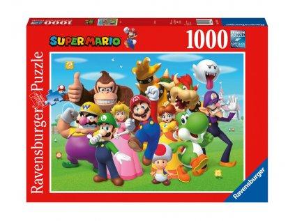 PUZZLE|NINTENDO  SUPER MARIO|1000 KUSŮ