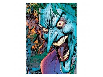 PUZZLE|DC COMICS  JOKER CRAZY EYES|1000 KUSŮ