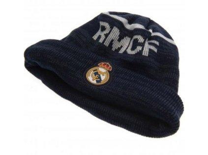 ČEPICE ÚPLETOVÁ ZIMNÍ  REAL MADRID FC|ZNAK|RMCF