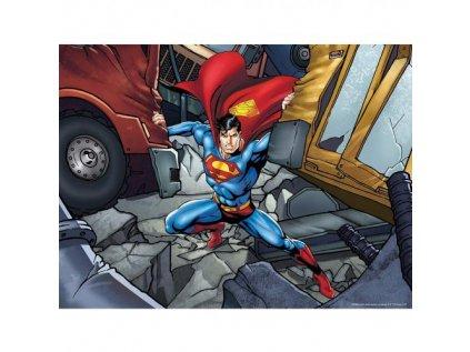 PUZZLE 3D OBRAZ DC COMICS  500 KUSŮ SUPERMAN