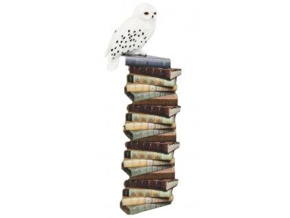 ZÁLOŽKA KNIŽNÍ 3D|HARRY POTTER  HEDWIG|SNĚŽNÁ SOVA