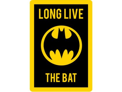 KOBEREČEK|DC COMICS|BATMAN  80 x 120 cm|LONG LIVE THE BAT