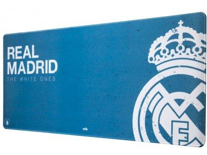 PODLOŽKA HERNÍ|REAL MADRID FC  ZNAK|THE WHITE ONES|80 x 35 cm