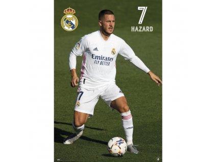PLAKÁT 61 x 91,5 cm|REAL MADRID FC  EDEN HAZARD